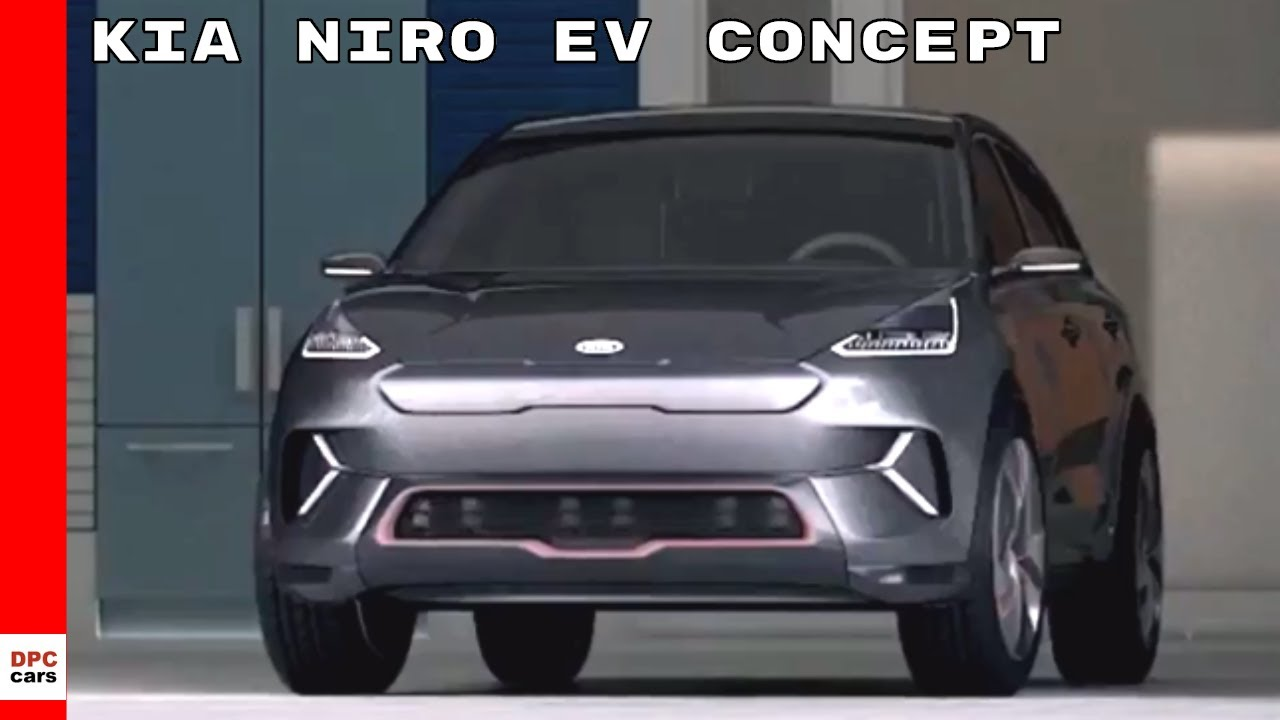 kia niro ev concept youtube. Black Bedroom Furniture Sets. Home Design Ideas