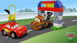Lego Duplo 10600 Disney cars carrera clásica en eurekakids