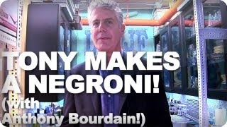 Late Night Eats: How To Make A Negroni With Anthony Bourdain (Late Night with Jimmy Fallon)