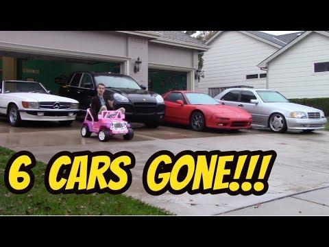 I'm Selling 6 Cars in my Hooptie Fleet.