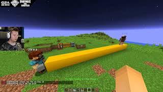 WYDROPIŁ MU DIAX MIECZ Z PHANTOMA?! | Minecraft Podglądam Graczy