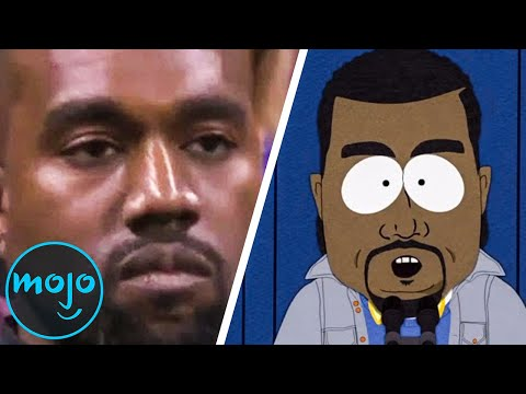Top 10 Celebrity Reactions To South Park Parodies