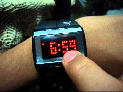 9e2ecc2727df Como cambiar hora y fecha Reloj touch screen - YouTube