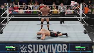 Goldberg vs Brock Lesnar wwe Survivor Series 2016