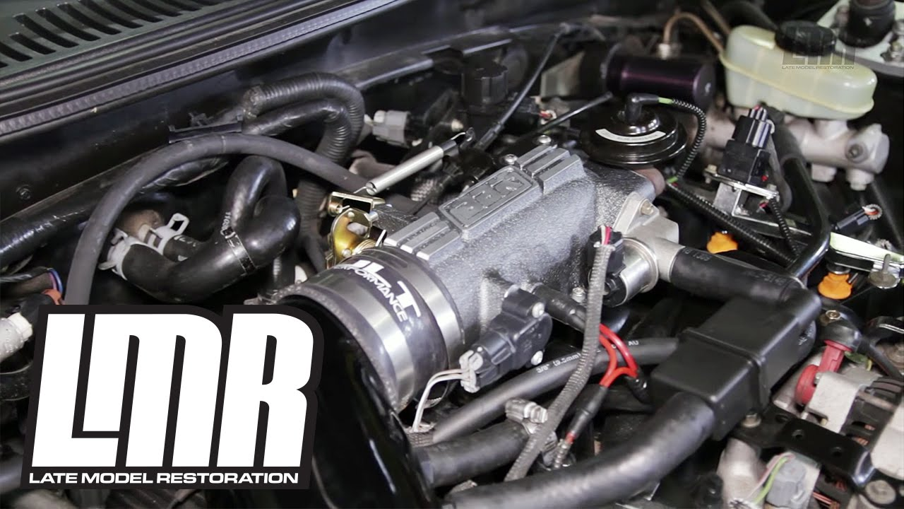 1996 04 Mustang Bbk 73mm Throttle Body Intake Plenum Gt 4 6 By Bbk