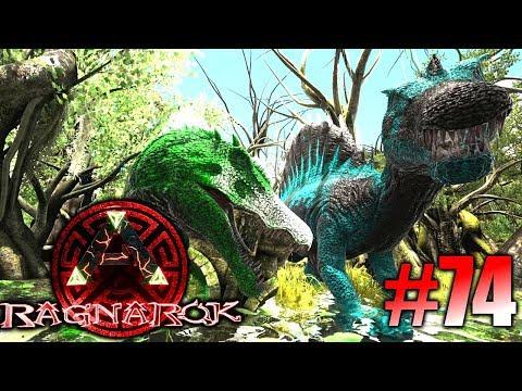 ARK: Ragnarok #74 - Primal Spinosaurus zähmen, Dragon Mounts & Godzillark Obelisk! | LP Ark Deutsch