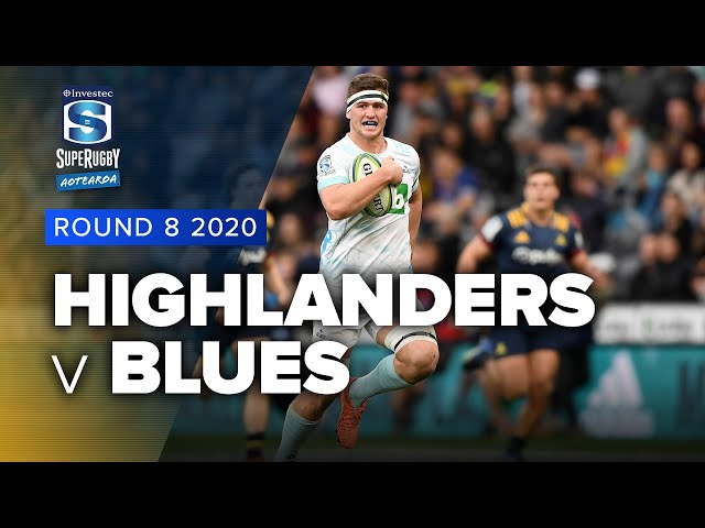 Super Rugby Aotearoa | Highlanders v Blues - Rd 8 Highlights