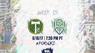 Portland Timbers USL vs OKC Energy FC full match