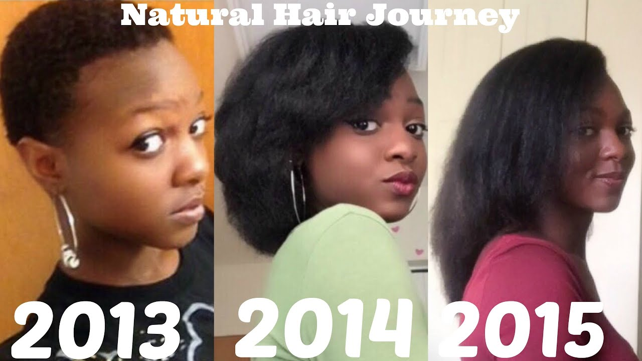 Natural Hair Journey 2013 2015