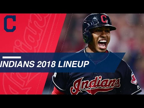 Take a look at the projected Indians 2018 lineup