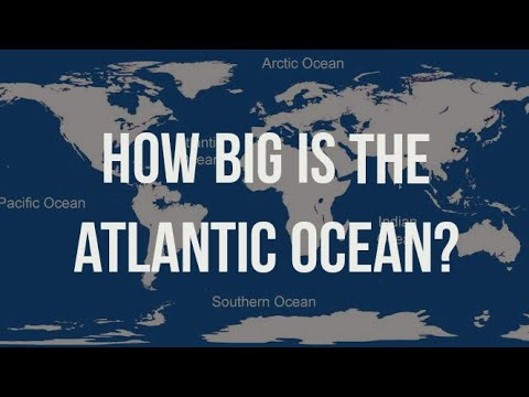 How big is Atlantic Ocean Actually?