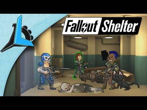 Fallout Shelter Ep 18- Best Weapon Ever! (Gameplay) (HD)