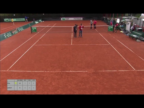 Junior Fed Cup by BNP Paribas  Finals - Court 9 FINAL (USA vs JPN)
