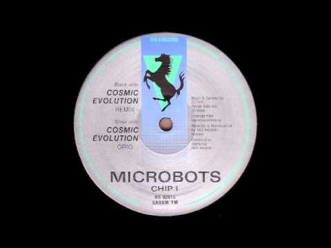 Microbots - Cosmic Evolution (Overdrive - R&S Records)