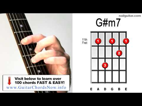 Video Guitar Chord Video Library Gm7