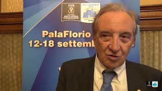 05-09-2018: #barivolley2018 - Bruno Cattaneo presenta la Pool C dei mondiali maschili di volley 2018