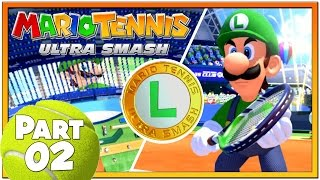 Mario Tennis Ultra Smash - Part 2 | Knockout Challenges 16-30 With Star Luigi!