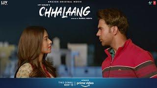 Chhalaang - Full Farzi Ho Tum | Rajkummar R, Nushrratt B | Streaming Now on Amazon Prime Video