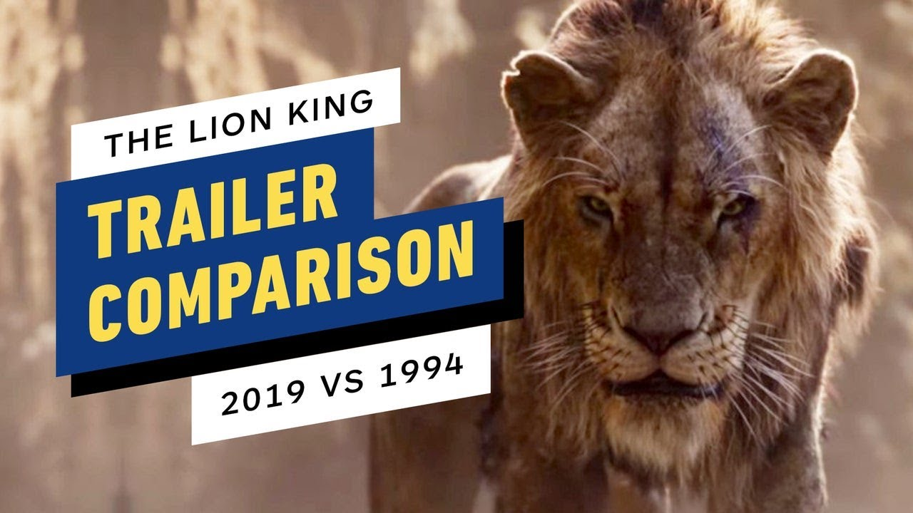 the lion king trailer side