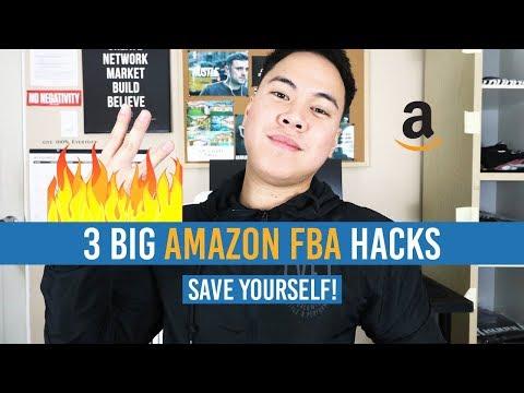 3 BIG AMAZON FBA HACKS!! SAVE YOURSELF NOW!!