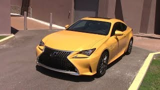 2018 Lexus RC-350F: 400 Mile Performance & Economy Test