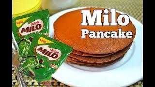 How To Make Pancake (Milo Pancake