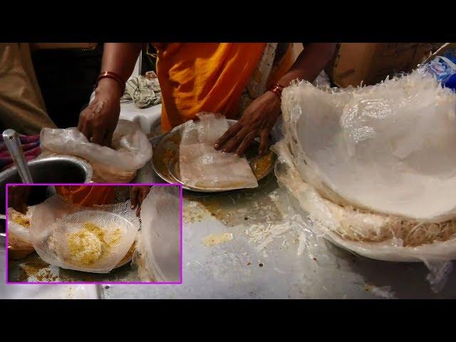 Pootha Rekulu Making   Street Food   AtreyaPuram   ఆత్రేయపురం పూతరేకులు