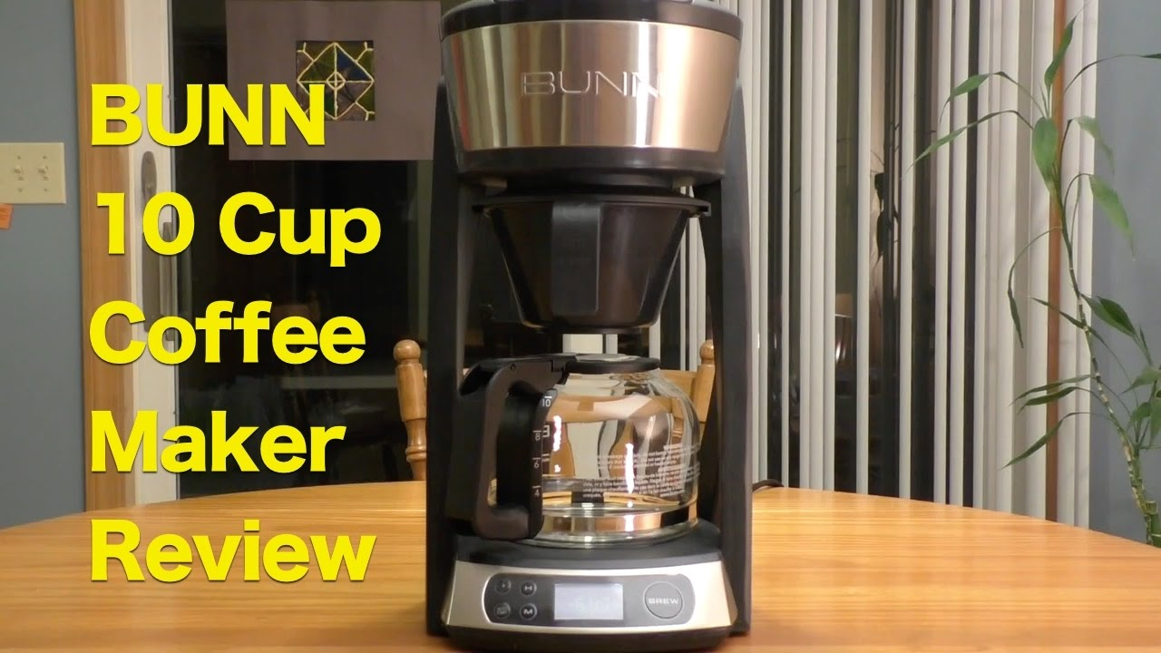 bunn 10cup coffeemaker review holiday gift for coffee lovers