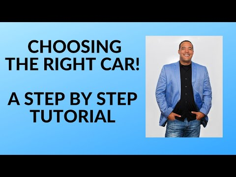 Choosing the Right Car
