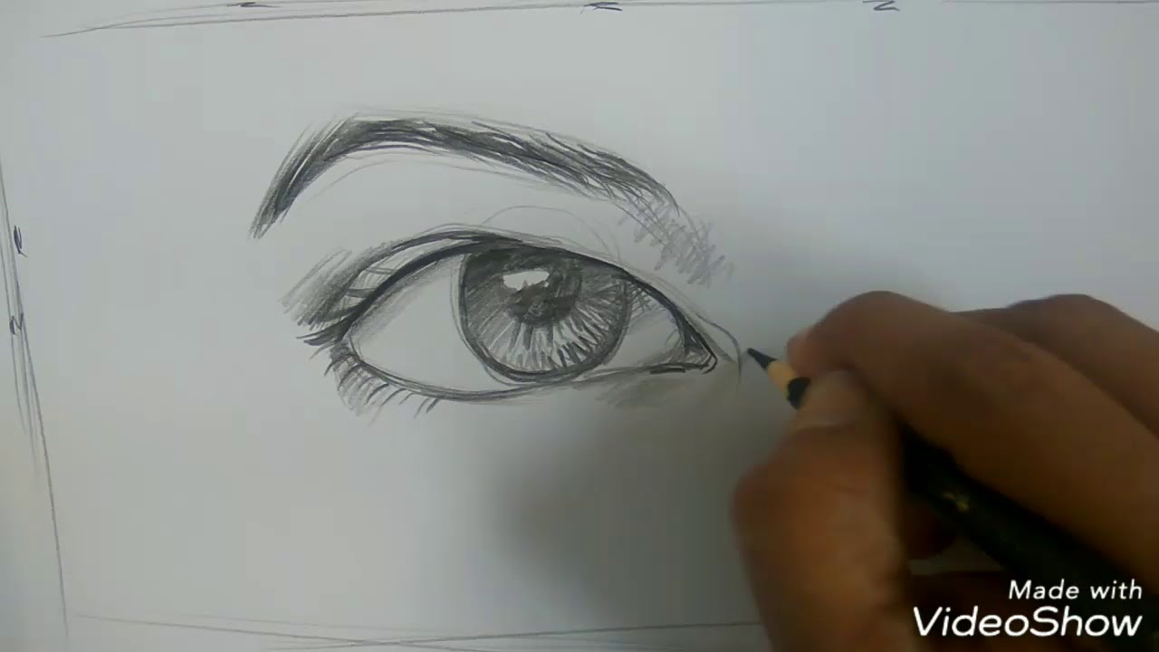 Cara Menggambar Mata Artis Natasha Wilona No Timelaps YouTube