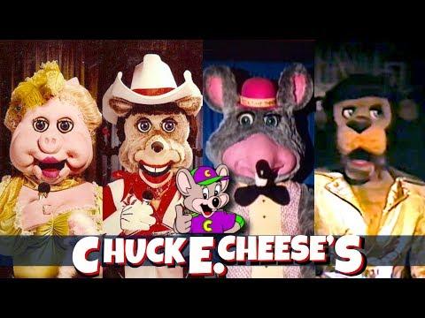 Top 10 Extinct Chuck E Cheese Animatronic Characters & History thumbnail
