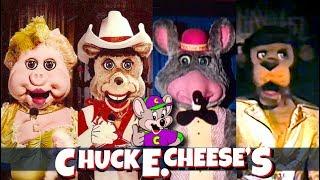 Top 10 Extinct Chuck E Cheese Animatronic Characters & History