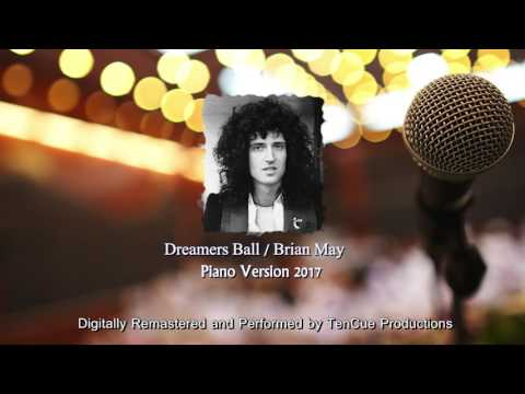 NEW Queen 2017  Dreamers Ball Piano Instrumental  1978 Brian May