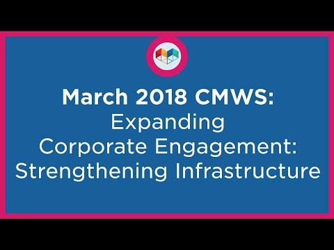 Expanding Corporate Engagement: Strengthening Infrastructure