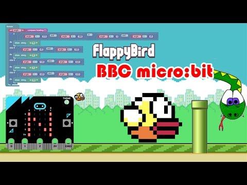 BBC micro:bit Flappy Bird Game