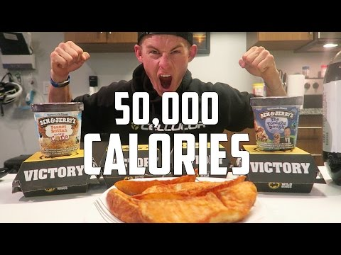 THE 50,000 CALORIE CHALLENGE