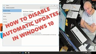 Windows 10 HOME: How to disable automatic updates and switch to manual downloads