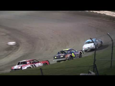 Eagle Raceway Hobby Stock Feature 7/8/2017