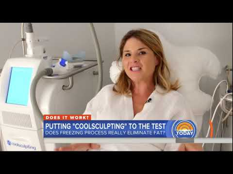 Jenna Bush Puts CoolsSulpting  To The Test on the Today Show