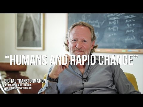 "Digital Transformation: David Krakauer on ""Humans and Rapid Change"""