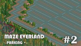 [RCT2] Maze everland - 2 (주차장 Parking)