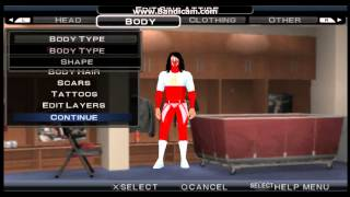 "WWE SVR 11 Jushin ""Thunder"" Liger CAW"
