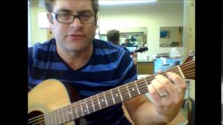 How to play a Gm7 guitar chord on acoustic guitar
