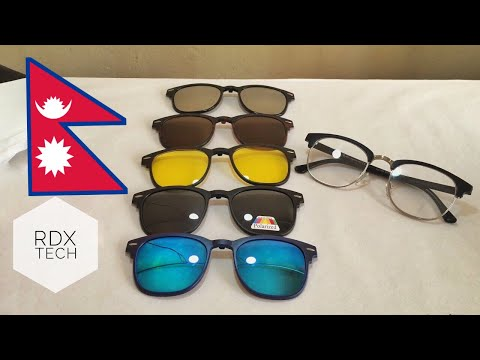 5 in 1 Magnetic (clip on) Sunglasses -REVIEW