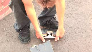 Skateboard Destruction Braille Clip of the week 2