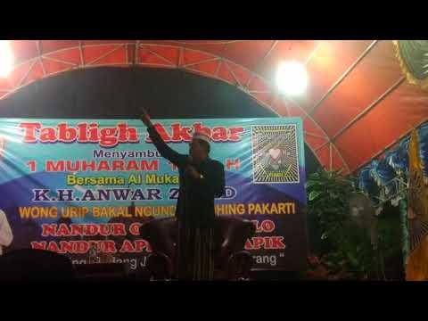 KH ANWAR ZAHID Di Pasar Kemis Tangerang