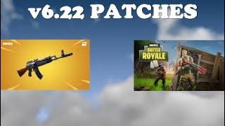 v 6.22 Update patch notas Fortnite