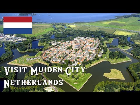 Visit Muiden City, Netherlands | Absolutly Amazing City (4K)