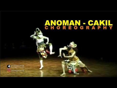 Tari Anoman Cakil - Choreography