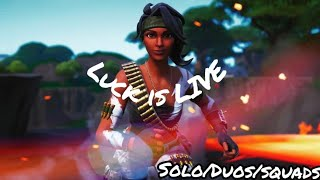 [ASMR] Live | Fortnite Battle Royale Squads Fill Reactions | Free 2500 V-bucks Giveaway @ 3K Subs